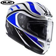 Шлем HJC RPHA 11 Vermo, Черный/белый/синий