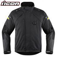 Мотокуртка ICON Raiden DKR Monochromatic, Чёрная