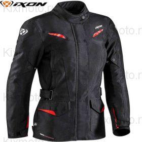Куртка женская Ixon Summit 2, Черно-красная